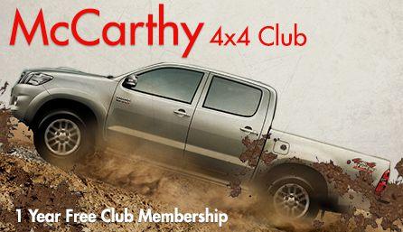 Gauteng 4x4 Clubs - McCarthy 4x4 Club