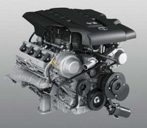 4x4 Engine LCV8 4.5l V8 diesel