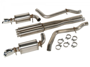 Exhaust System - Free flow exhaust