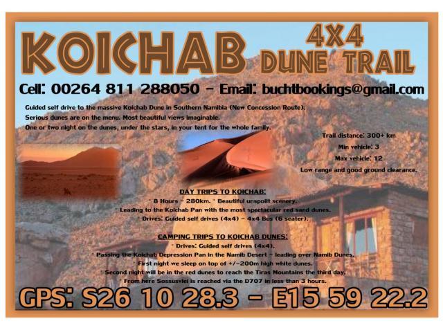Konichab Dune Trail