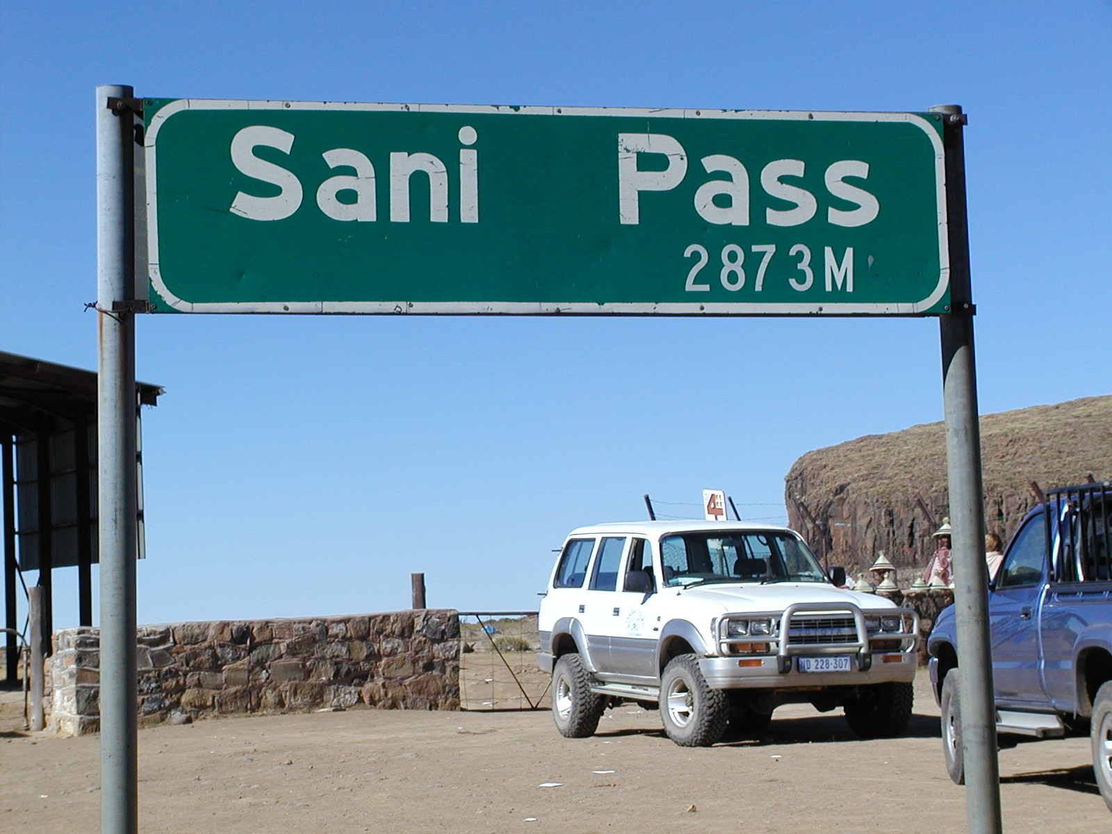 Beyond Sani Pass