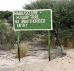 Mabuasehube Wilderness Trail