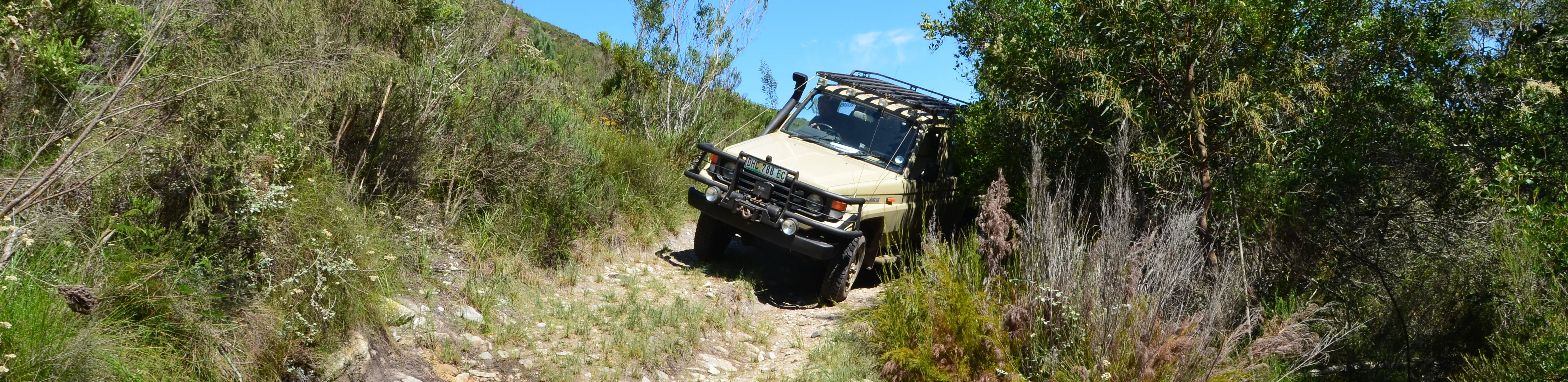 4x4 Africa - Basic off-road Driving