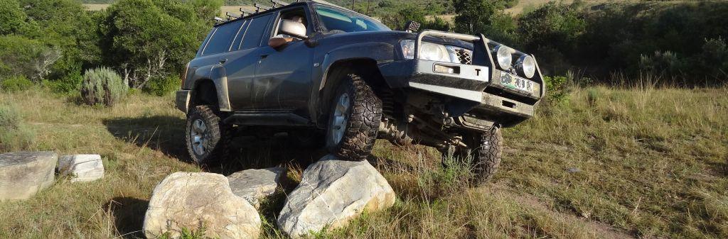 4x4 Africa - rock-crawling