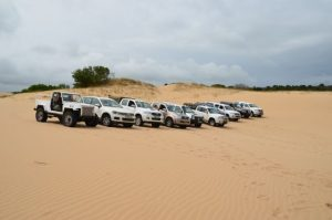 South African club-event-sand-driving-trail