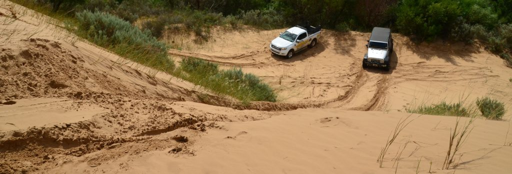 South Africa sand-driving-trails